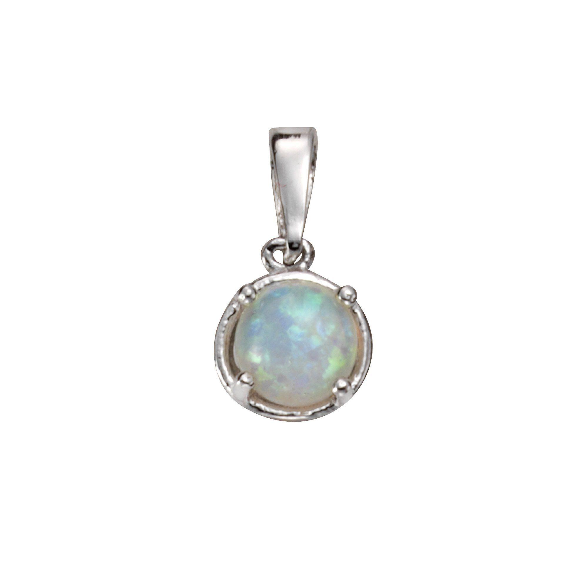 Firetti Anhänger »925/- Sterling Silber synth. Opal«