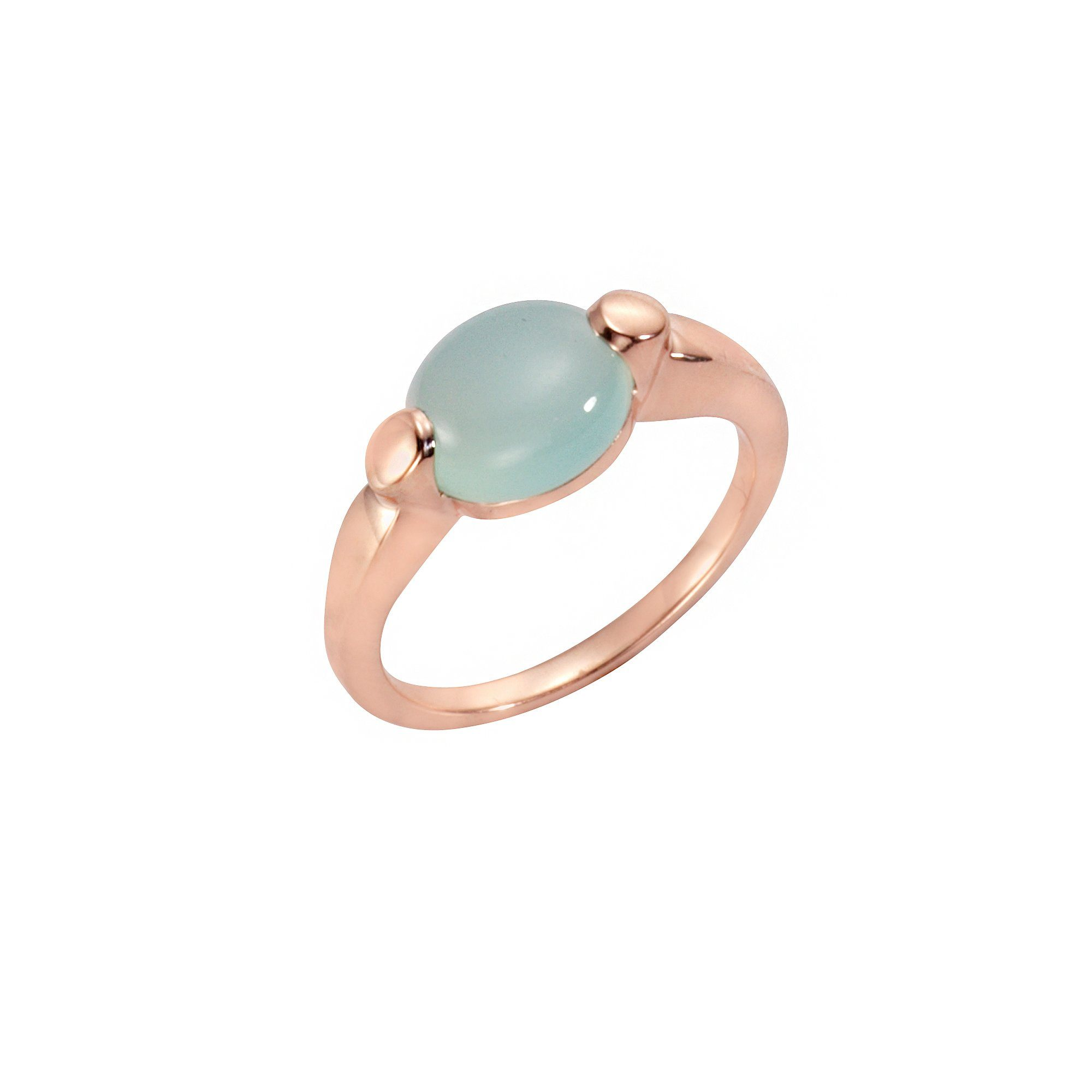 Kaufen Ring Jamelli Silber Online Chalcedon«Modernes Rosévergoldet Mit »925Sterling Design 4Ljq5Ac3R