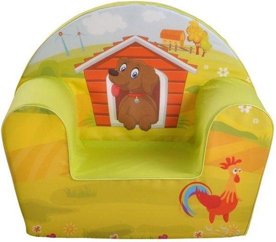 Knorrtoys® Sessel »Dog on a farm«