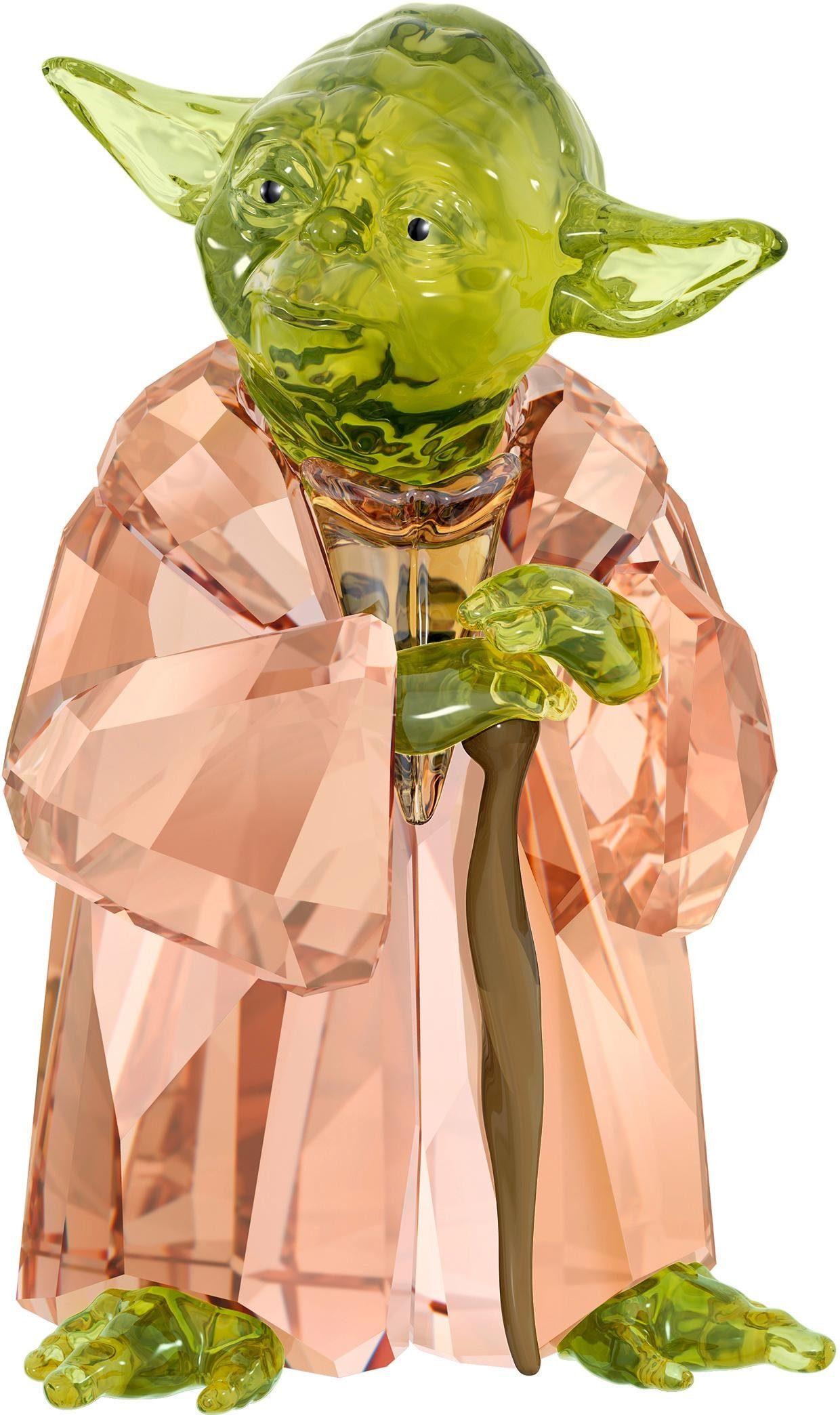Swarovski Dekofigur »STAR WARS - MASTER YODA, 5393456«, Swarovski®-Kristall, (1-tlg), Swarovski® Kristall
