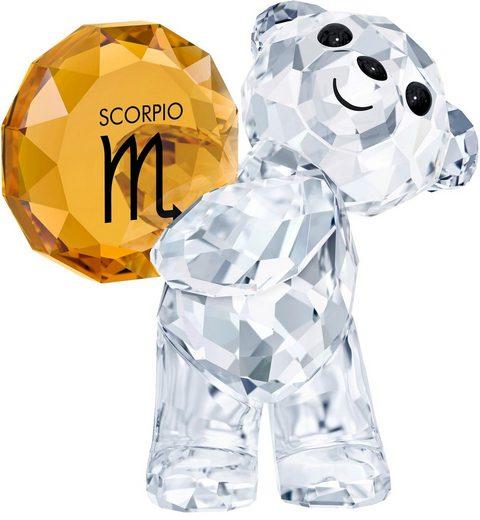 Swarovski Dekofigur »KRIS BEAR - SCORPIO, 5396286« (1 Stück), Swarovski® Kristall