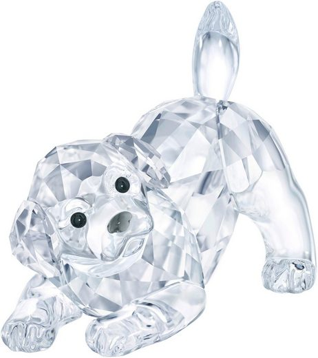 Swarovski Dekofigur »LABRADOR PUPPY, PLAYING, 5408608« (1 Stück), Swarovski® Kristall
