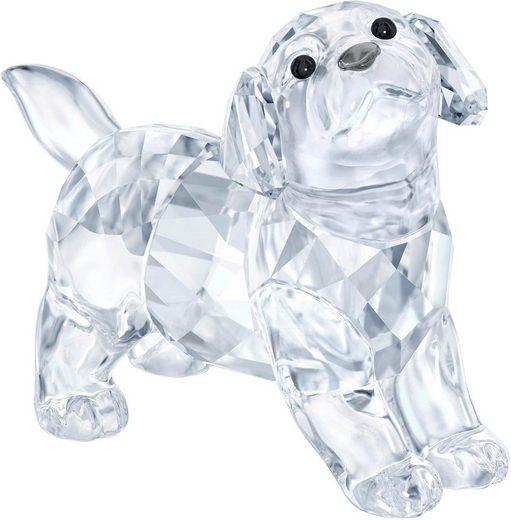 Swarovski Dekofigur »LABRADOR PUPPY, STANDING, 5400141« (1 Stück), Swarovski® Kristall