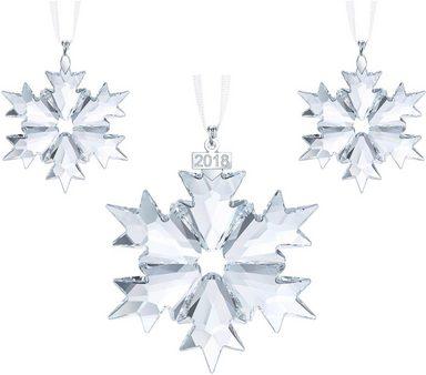 Swarovski Dekofigur »CHRISTMAS SET 2018, 5357983« (3 Stück), Swarovski® Kristall