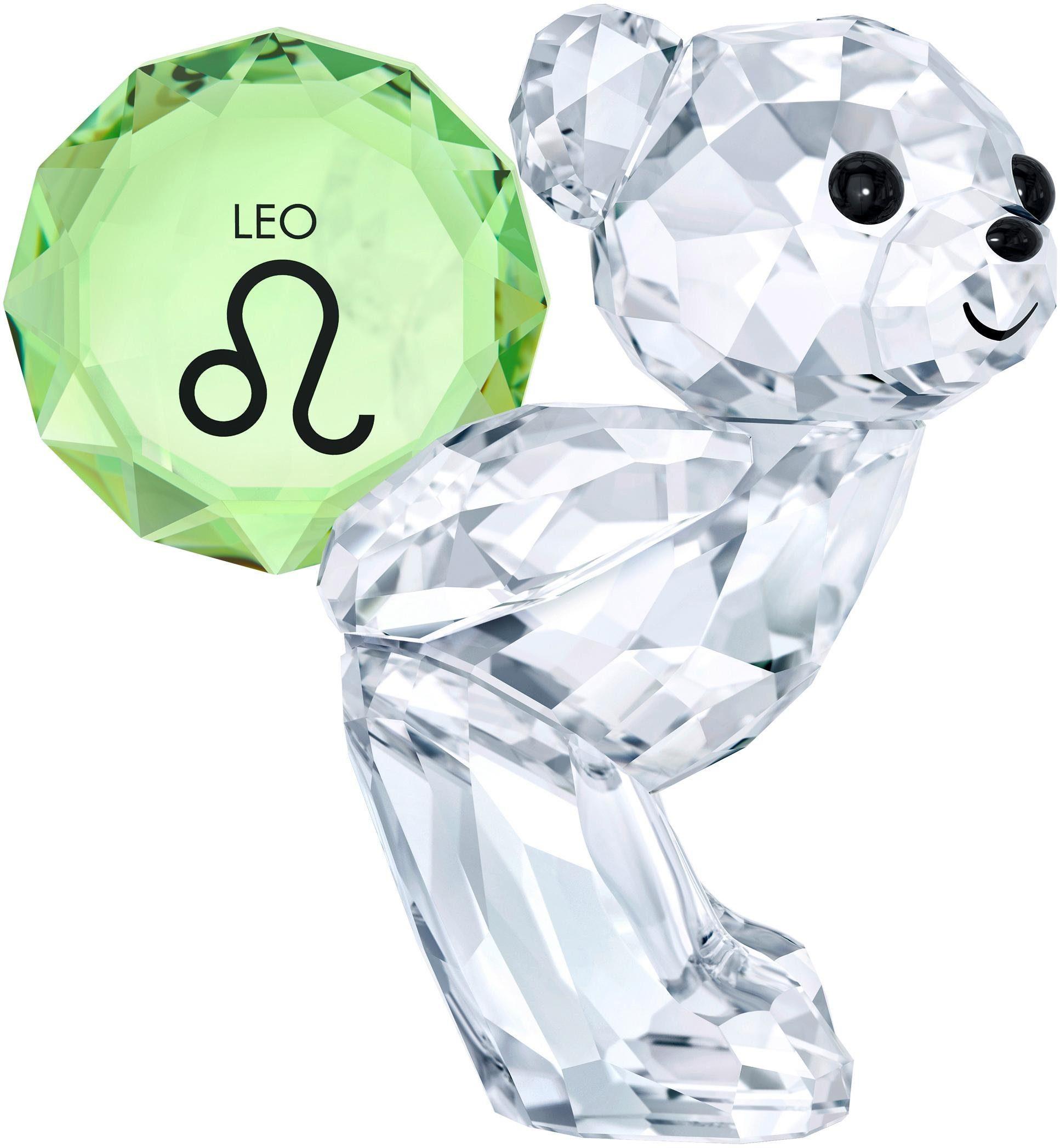 Swarovski Dekofigur »KRIS BEAR - LEO, 5396280« (1 Stück), Swarovski® Kristall