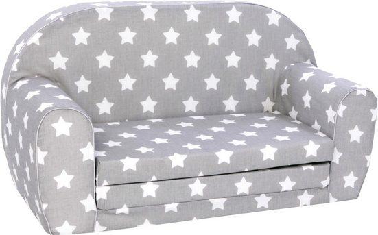 Knorrtoys® Sofa »Stars white«, für Kinder