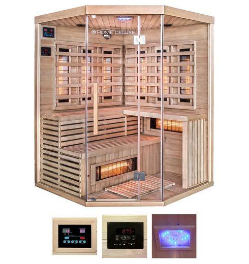 HOME DELUXE Infrarotkabine »Sahara XXL«, B/T/H: 150/150/200 cm, für bis zu 4 Personen