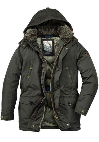 3204019d24db Redpoint Parka »ERIC« mit integriertem Comfort Thermometer