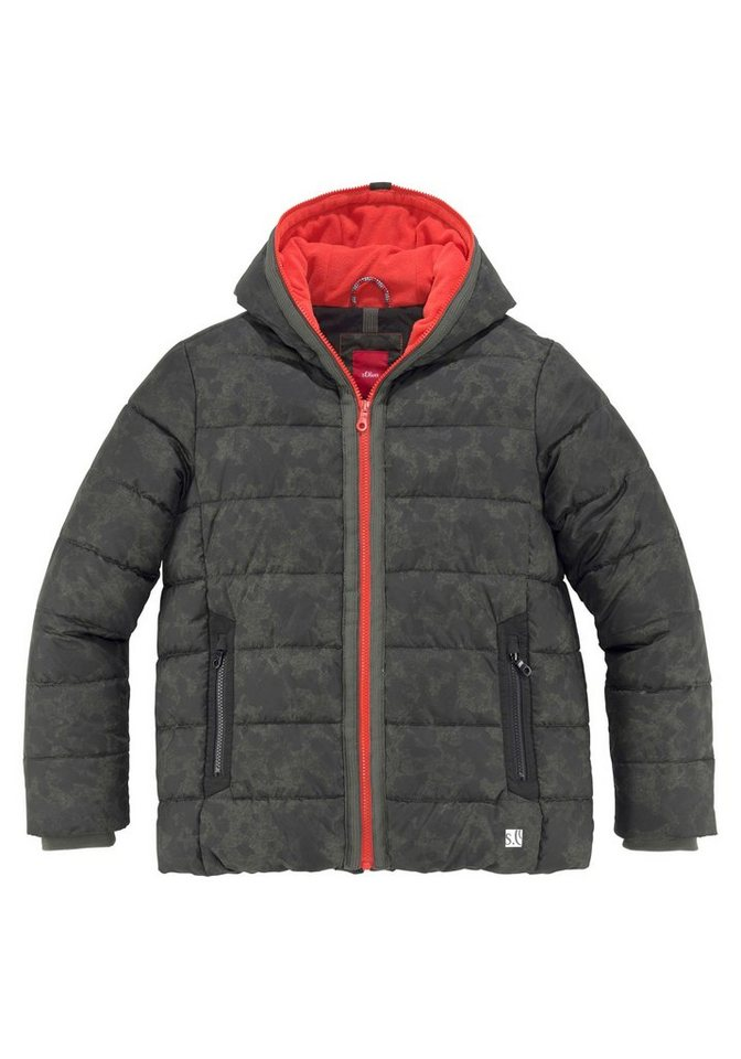 34bc20a15f789b s.Oliver RED LABEL Junior Winterjacke in coolem Tarnmuster online ...