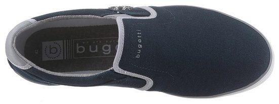 Stretcheinsätzen Bugatti on Sneaker Mit »alfa« Praktischen Slip PPYwSqU