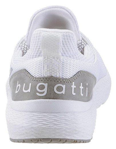 Komfortablem Sneaker Bugatti Mit Wechselfußbett »exon« WBBcPAU4
