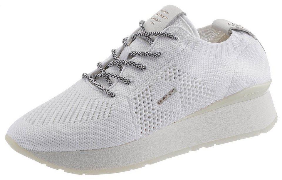 f0c51687751e4f Gant Footwear »Linda« Plateausneaker aus Textilstrick online kaufen ...
