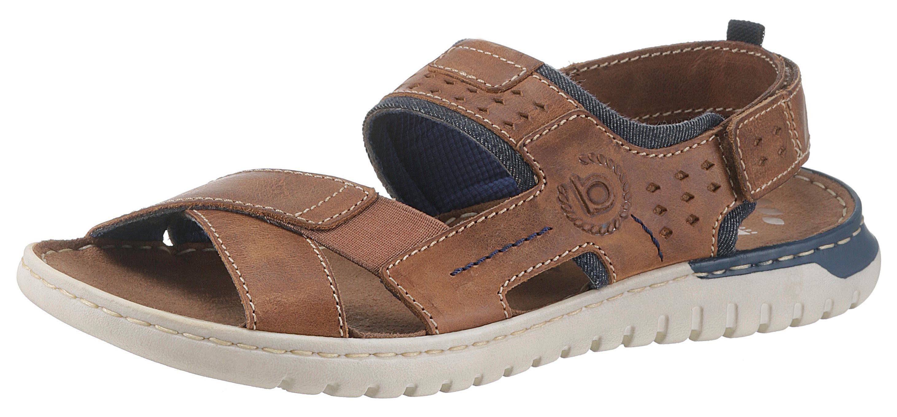 bugatti »Idaho« Sandale mit coolen Denim-Einsätzen