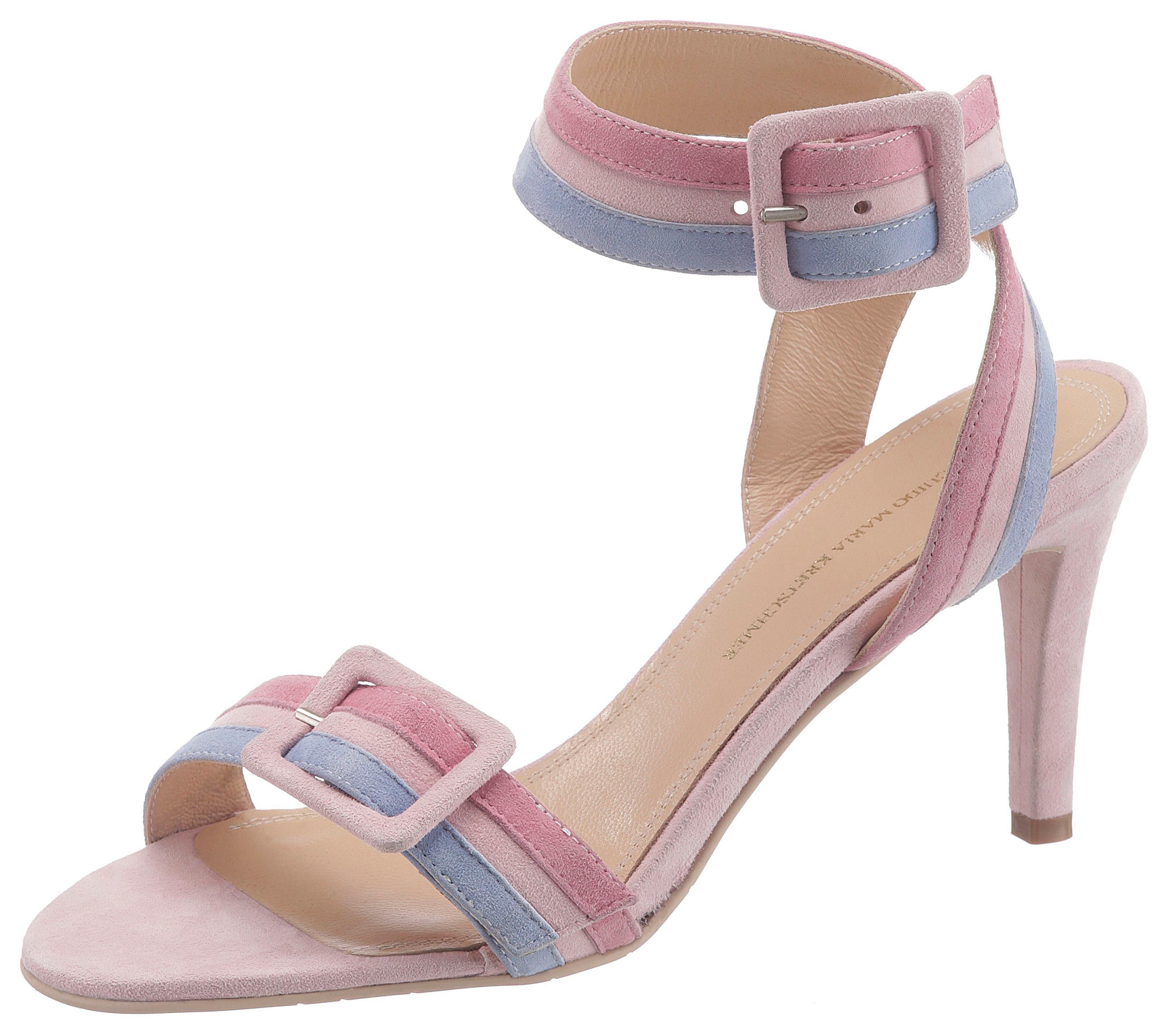 GUIDO MARIA KRETSCHMER Sandalette mit Zierschnalle und verstellbarer Schnalle