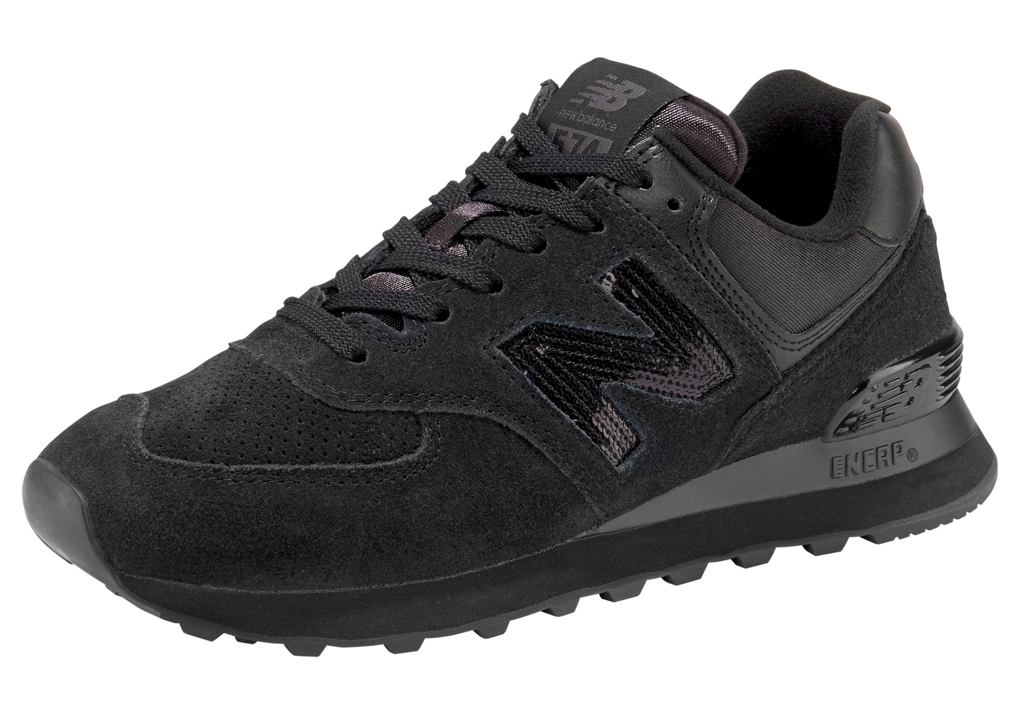 New Balance »WL 574« Sneaker, Hochwertiges, weiches Obermaterial aus Leder online kaufen | OTTO