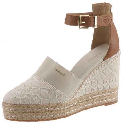 f61e29caf4d28f Gant Footwear »San Jose« Spangenpumps in sommerlicher Makrameeoptik