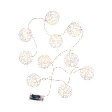 BUTLERS ATMOSPHERE »Lichterkette Glitzerkugel 10 Lichter«