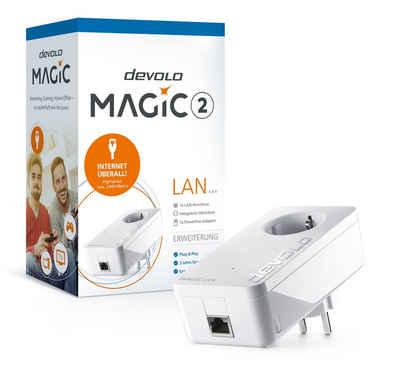 DEVOLO »(2400Mbit, G.hn, Powerline, 1x GbitLAN, Heimnetz)« LAN-Router, Magic 2 LAN Ergänzung