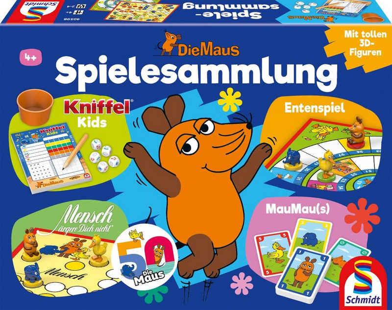 Schmidt Spiele Spielesammlung, Kinderspiel »Die Maus«, mit 12 original 3D - Figuren