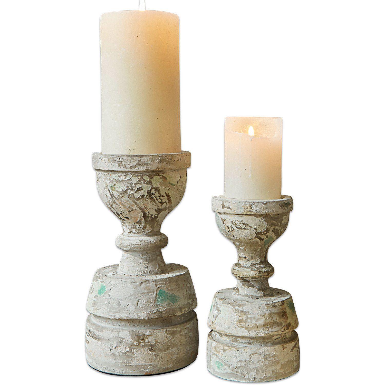Loberon Kerzenständer 2er Set »Bettony«