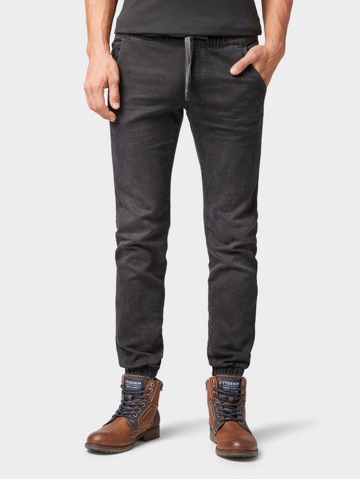 tom tailor denim slim fit jeans denim jogginghose slim. Black Bedroom Furniture Sets. Home Design Ideas