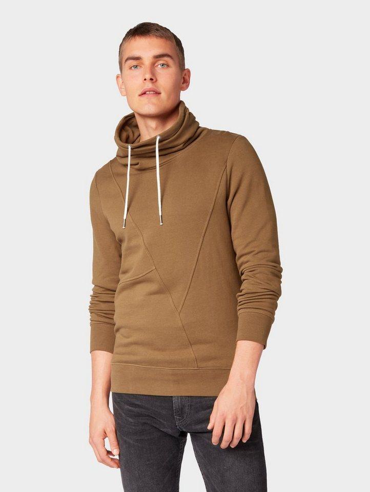 Herren TOM TAILOR Denim  Sweatshirt Schlichtes Sweatshirt grün | 04060868671558