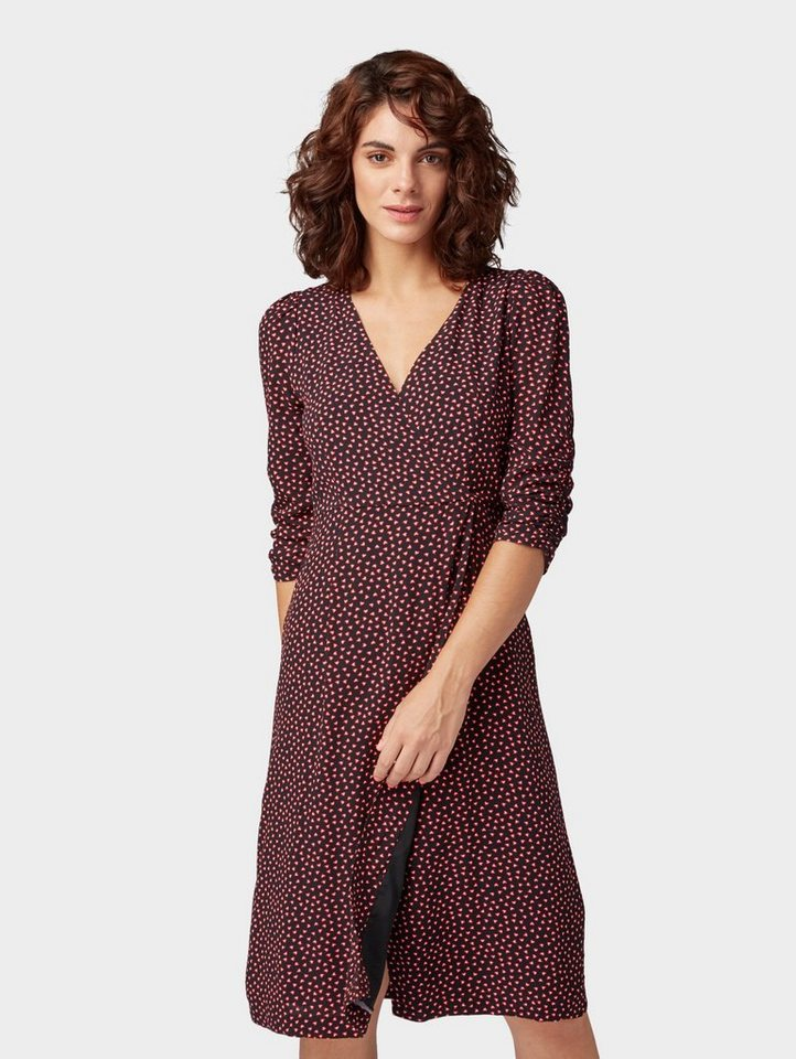 tom tailor contemporary blusenkleid »gemustertes kleid