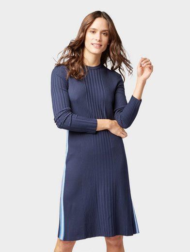TOM TAILOR Strickkleid »Kleid mit seitlichen Streifen«