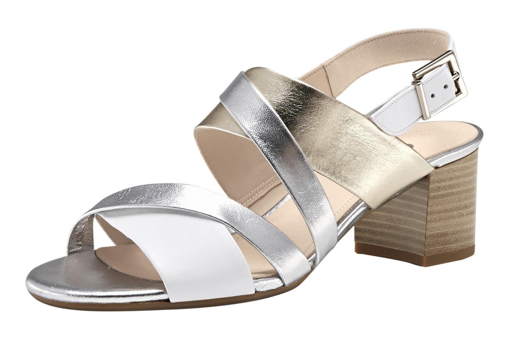 Gabor Sandalette Im Metallliclook Online KaufenOtto Nnvm08w