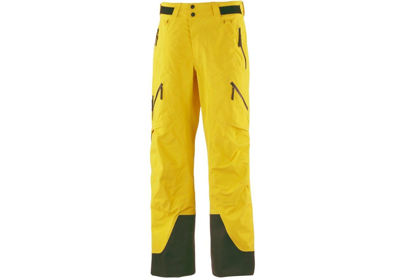 Herren Peak Performance Skihose »Gravity GORE-TEX®« gelb, rot   05713112118598