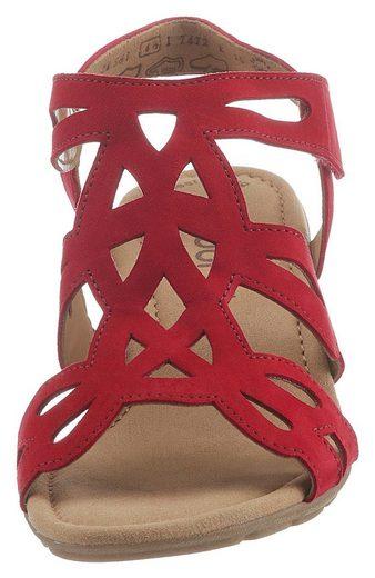 Gabor Sandalette Klettverschluss Sandalette Mit Gabor Mit Praktischem w5B4v