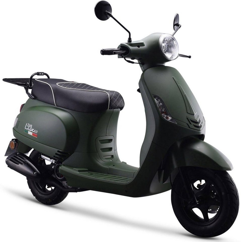 iva motorroller lux 50 ccm 45 km h euro 4 otto. Black Bedroom Furniture Sets. Home Design Ideas