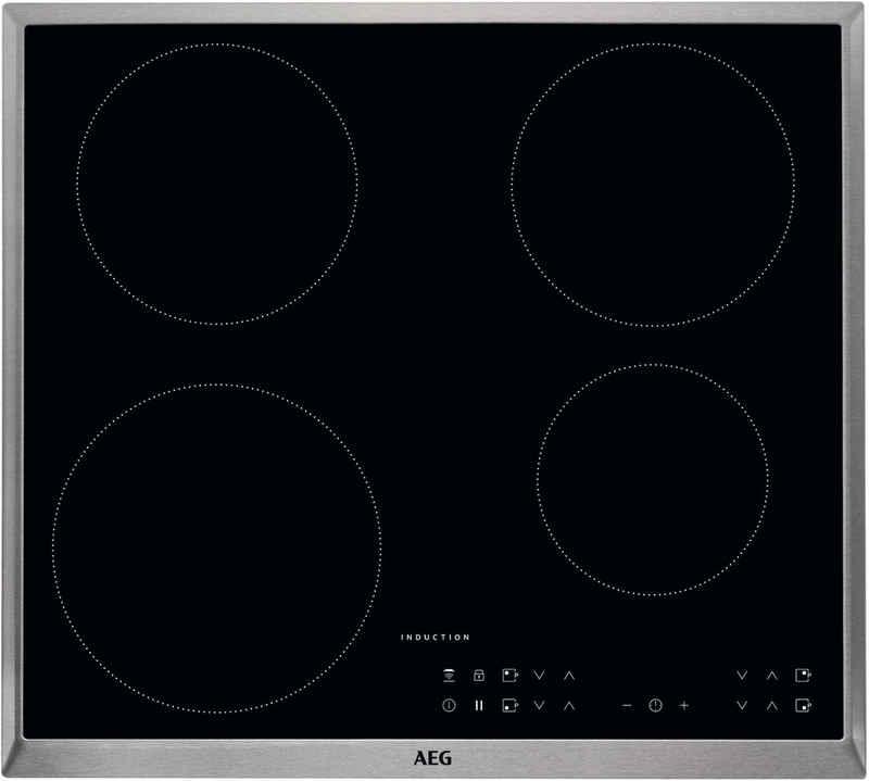 AEG Induktions-Kochfeld IKB6430AXB, mit Hob²Hood - Funktion
