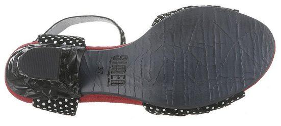 Sandalette Im Kontrast Modischen Simen look XaqF6