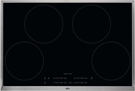 AEG Induktions-Kochfeld IKB8443AXB, SlimFit-Design