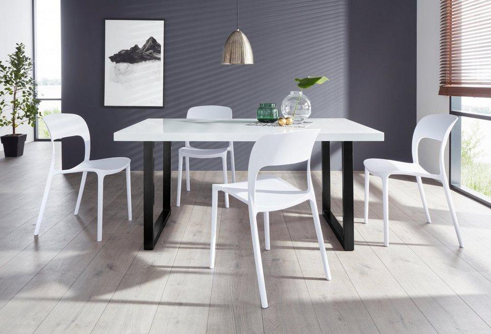 Essgruppe Manger Florian 180 Mit 4 Stühlen Tisch Breite