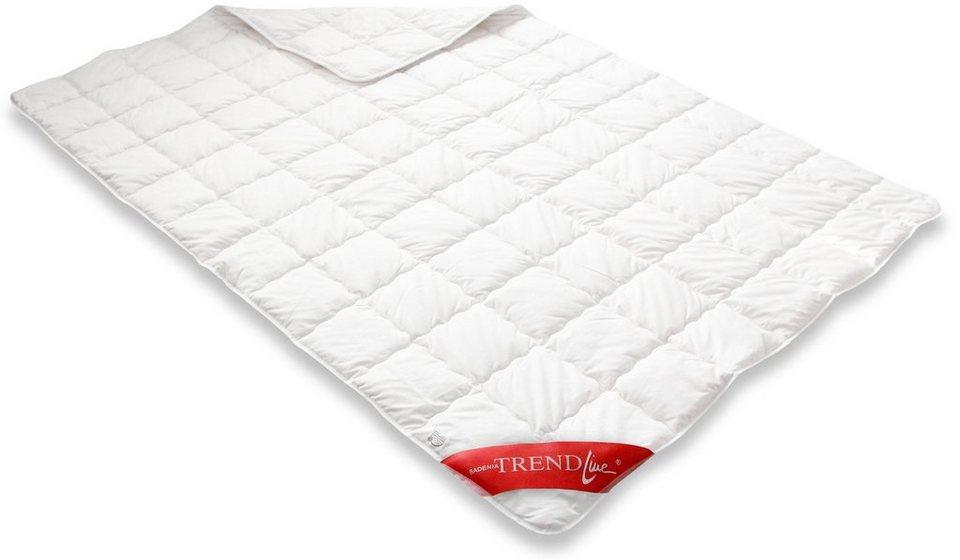 Naturfaserbettdecke Clean Cotton Leicht Badenia Trendline Leicht Fullung 100 Baumwolle Bezug 100 Baumwolle 1 Tlg Online Kaufen Otto