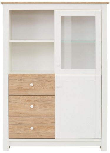 Home affaire Highboard »Rezjia«, 2-türig, Breite 111 cm