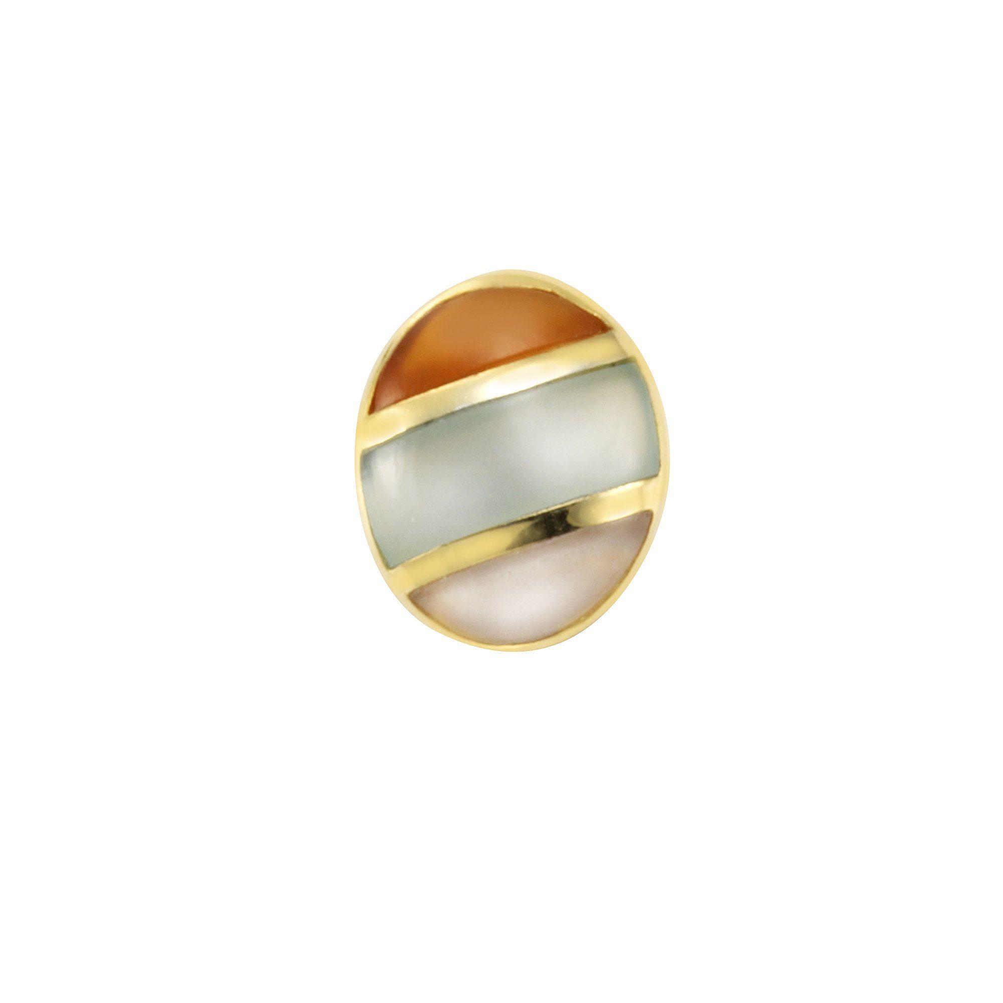 Firetti Anhänger »925/- Silber vergoldet echte Steine«