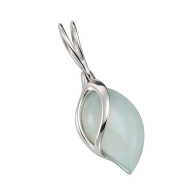 Vivance Anhänger »925/- Sterling Silber Aqua-Achat«