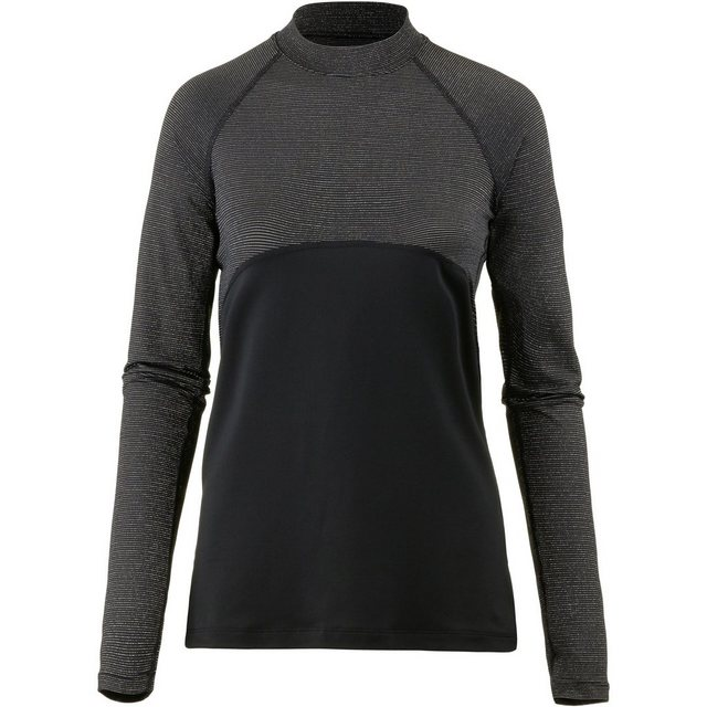 Damen Nike Funktionsshirt Pro schwarz | 00191886773161