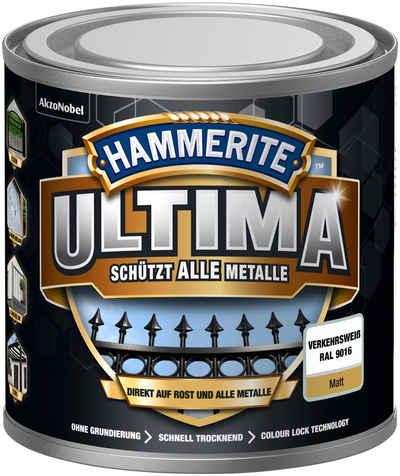 Hammerite Metallschutzlack »ULTIMA«, 3in1, verkehrsweiss RAL 9016, matt
