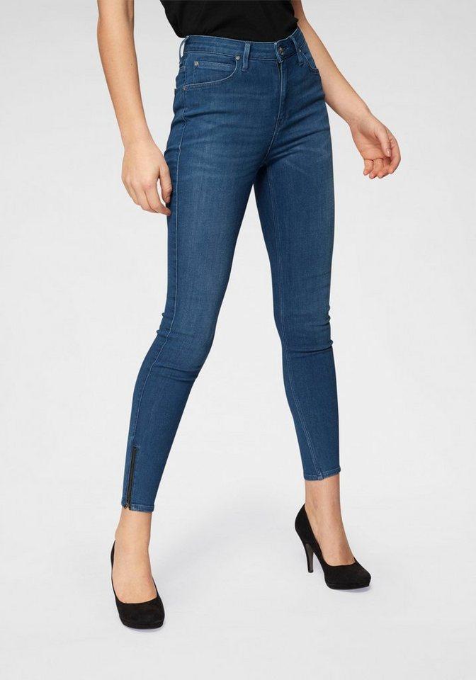 Lee® Skinny-fit-Jeans »Scarlett« 5-Pocket, Mid Waist | Bekleidung > Jeans > 5-Pocket-Jeans | Blau | Lee®