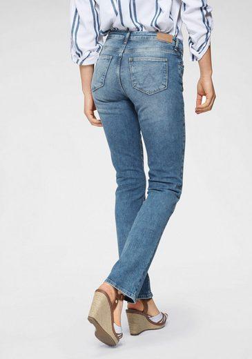 Wrangler Straight-Jeans mit Stretchanteil für gute Passform