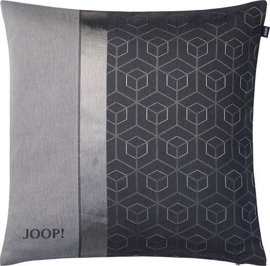 Kissenhülle »Metric«, Joop! (1 Stück), mit geometrischem Muster und Logo