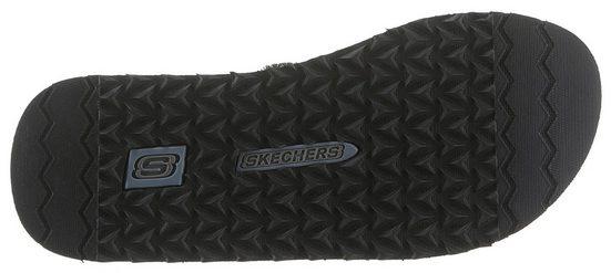 Skechers Logoapplikation Skechers Mit Cooler Zehentrenner Zehentrenner rwXq4xrZ1
