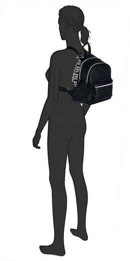 Mit »tyra« Zierband Tailor Tom Denim Cityrucksack Abnehmbarem B7U6Ipwxq