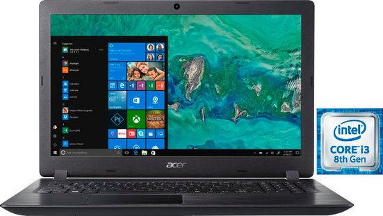 Acer Aspire 3 (A315-51-3388) Notebook (39,62 cm/15,6 Zoll, Intel Core i3, UHD Graphics, 1000 GB HDD, inkl. Office 365 Personal (ESD)