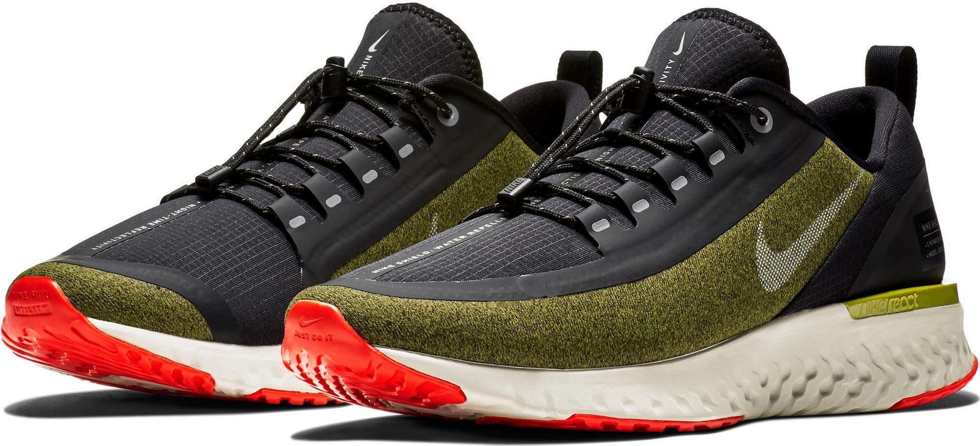 Nike »Odyssey React Shield« Laufschuh, Funktionaler Laufschuh aus der Shield Kollektion ist für nasse, dunkle Strecken geeignet online kaufen | OTTO