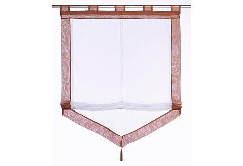 Raffrollo xanten my home mit schlaufen kaufen otto for Fenster xanten